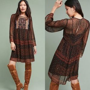 Anthropologie Dresses - Akemi + Kin Munro Embroidered Tunic Dress SOLD